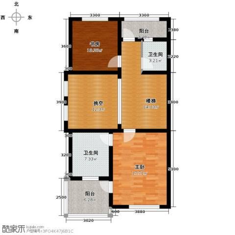 海亮九玺【九台别墅】2室0厅2卫0厨424.00㎡户型图
