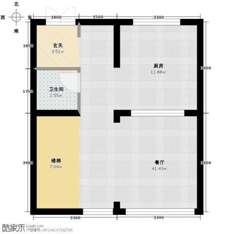 海亮九玺【九台别墅】1厅1卫0厨411.00㎡户型图