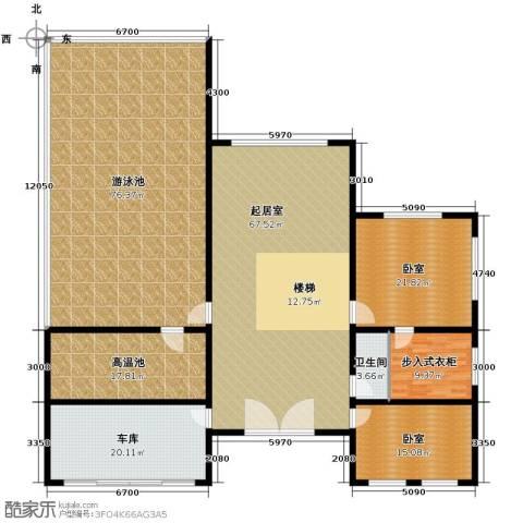 北京龙脉温泉花园1卫0厨569.00㎡户型图