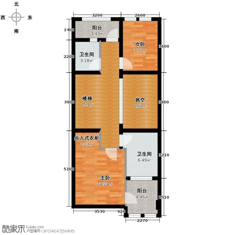 海亮九玺【九台别墅】360.70㎡A4-07户型2室2卫