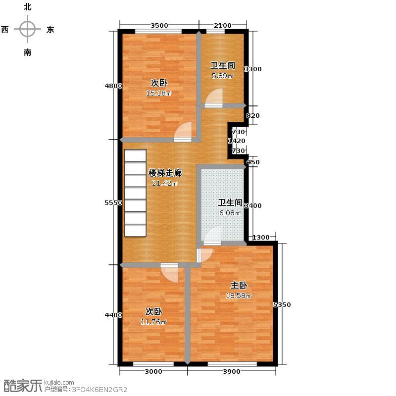 鹭岭88.51㎡5银角对户首层-05户型10室