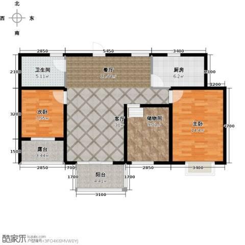 翰林世家3室2厅1卫0厨99.00㎡户型图