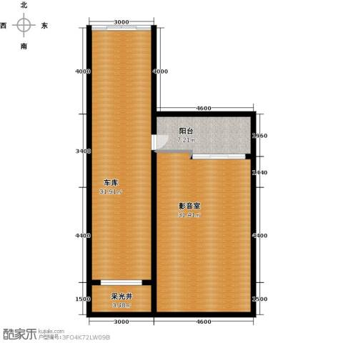 华茂中心1室1厅0卫0厨74.00㎡户型图