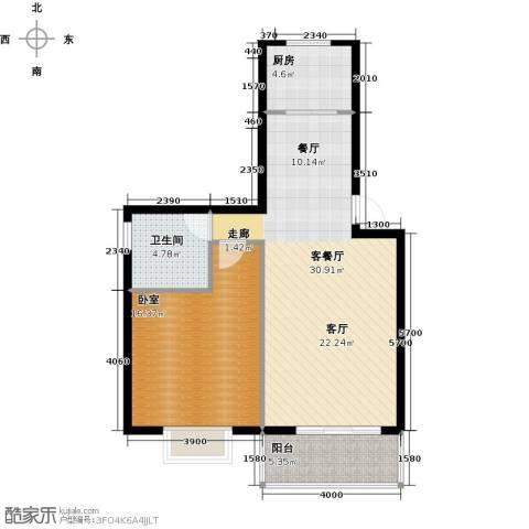 凤华名邸76.00㎡户型图