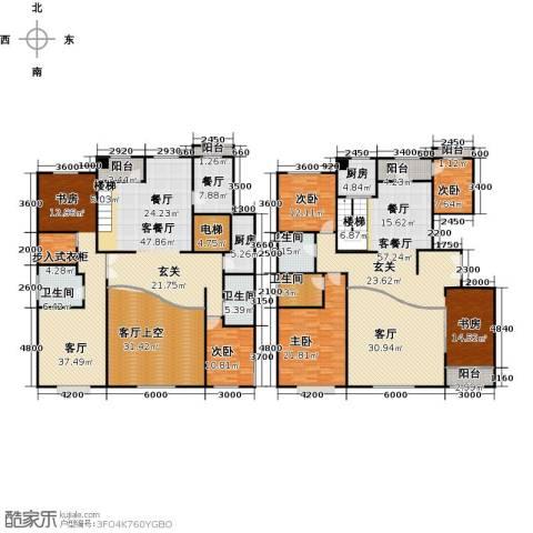 亿利城文澜雅筑6室3厅4卫0厨354.00㎡户型图