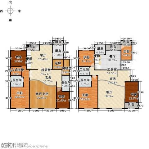 亿利城文澜雅筑6室3厅4卫0厨350.00㎡户型图