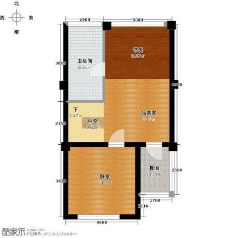 君海61.00㎡户型图