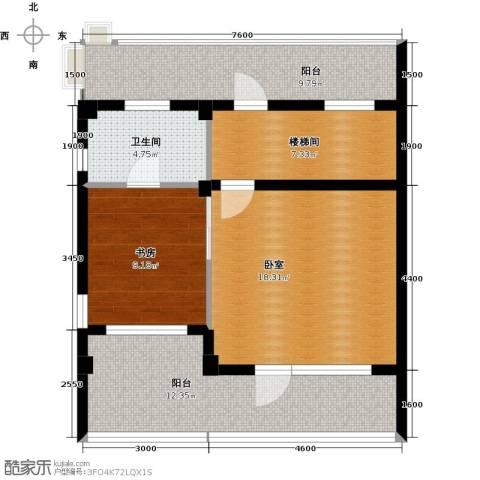 华茂中心1室1厅1卫0厨61.94㎡户型图