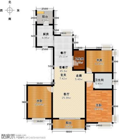 海河大道宽景公寓163.00㎡户型图