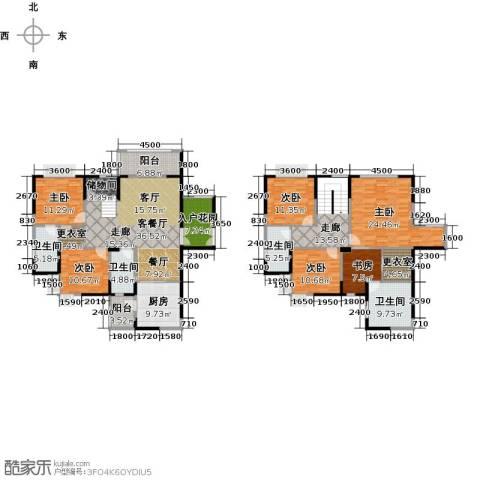 天合凯旋南城5室2厅4卫0厨196.00㎡户型图