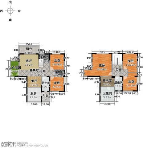 天合凯旋南城5室2厅3卫0厨188.00㎡户型图