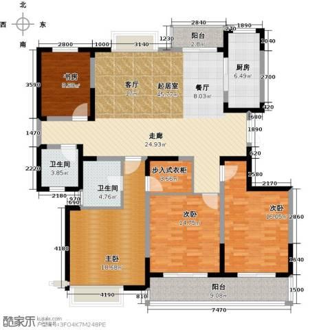 彩虹湖4室2厅2卫0厨177.00㎡户型图