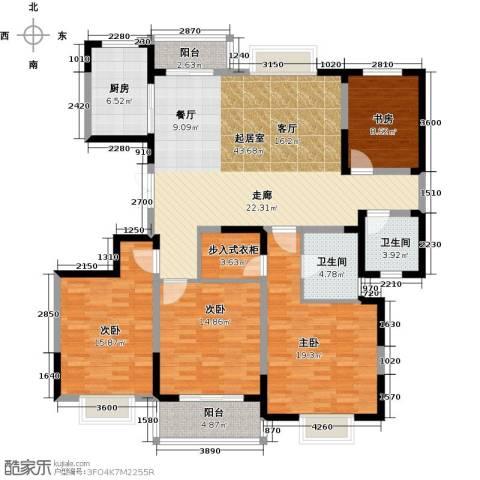 彩虹湖4室2厅2卫0厨183.00㎡户型图