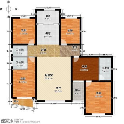 御龙瀚府4室2厅3卫0厨217.00㎡户型图