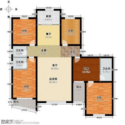 御龙瀚府4室2厅3卫0厨200.00㎡户型图