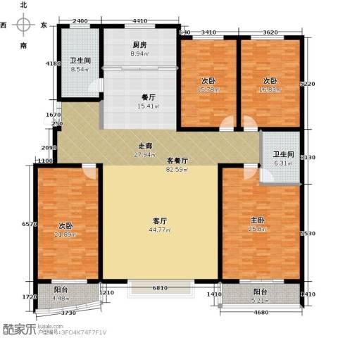 绿都皇城4室2厅2卫0厨227.00㎡户型图
