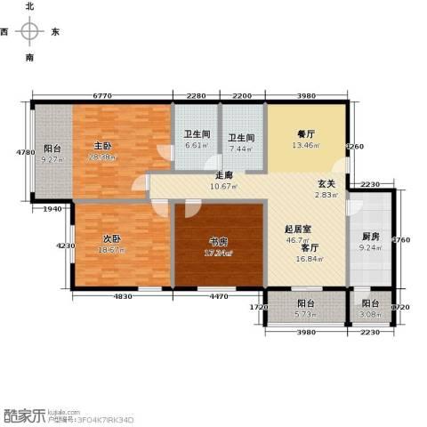 乐府国际公寓188.00㎡户型图