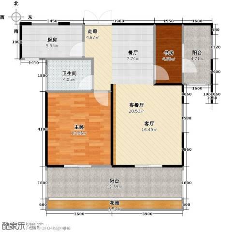 嘉福尚江尊品106.00㎡户型图