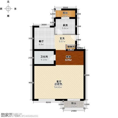 龙顺御墅2室1厅1卫0厨178.00㎡户型图