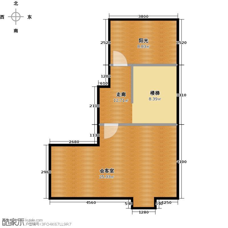 红星威尼斯庄园50.16㎡L1-(阁楼)户型10室
