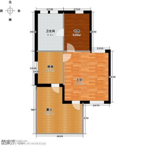 红星海世界观2室0厅1卫0厨74.11㎡户型图