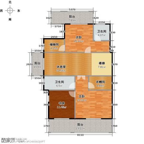 红星威尼斯庄园156.00㎡户型图