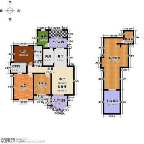 信达尚城3室2厅2卫0厨179.66㎡户型图