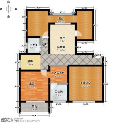 大海鑫庄国际149.00㎡户型图