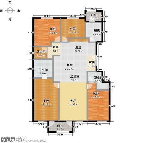 唐宁ONE4室2厅3卫0厨180.00㎡户型图