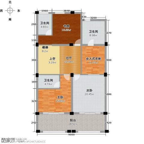 绿城云栖玫瑰园4室2厅5卫0厨496.00㎡户型图