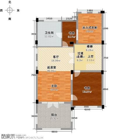 绿城云栖玫瑰园4室2厅5卫0厨503.00㎡户型图