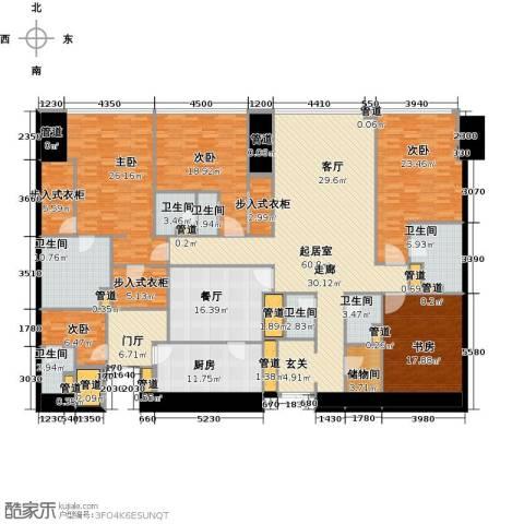 东方之门5室2厅4卫0厨309.00㎡户型图