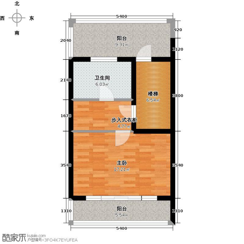 佳兆业东戴河57.76㎡别墅户型10室