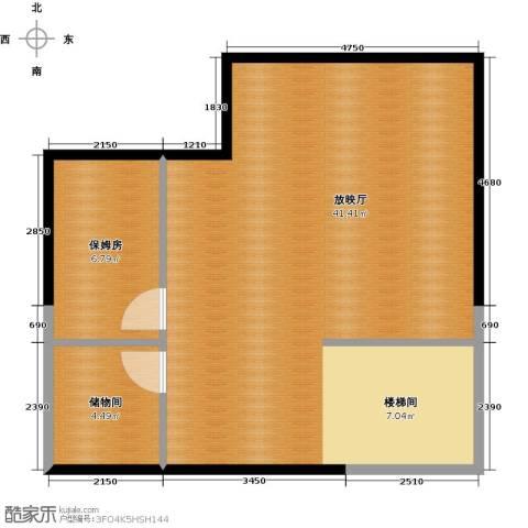 五星国色天香71.00㎡户型图