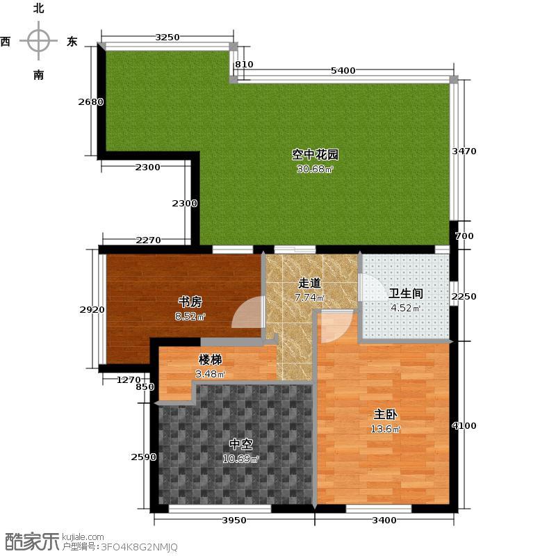 世纪星城・长城国际155.20㎡三期A边上跃层户型10室
