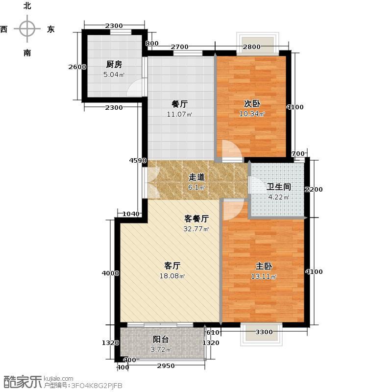 世纪星城・长城国际76.25㎡三期A标准LOFT户型10室