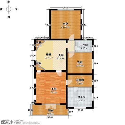 珠江・紫宸山168.00㎡户型图