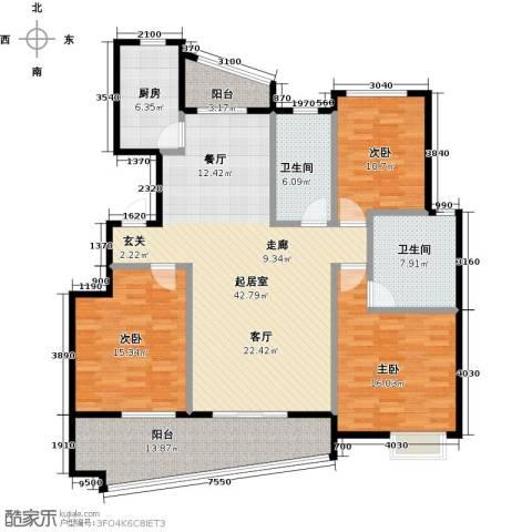 丁香花园137.00㎡户型图