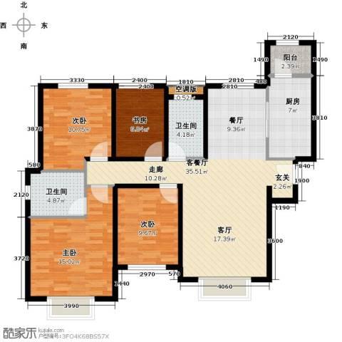天津津南新城4室2厅0卫0厨150.00㎡户型图