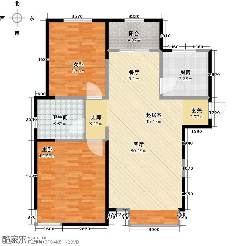 贻成豪庭108.00㎡E1户型10室