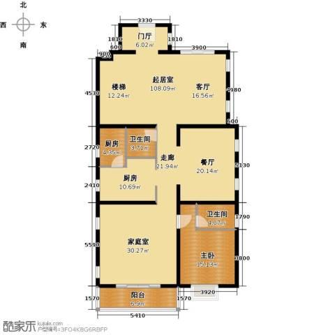珠江・紫宸山197.00㎡户型图
