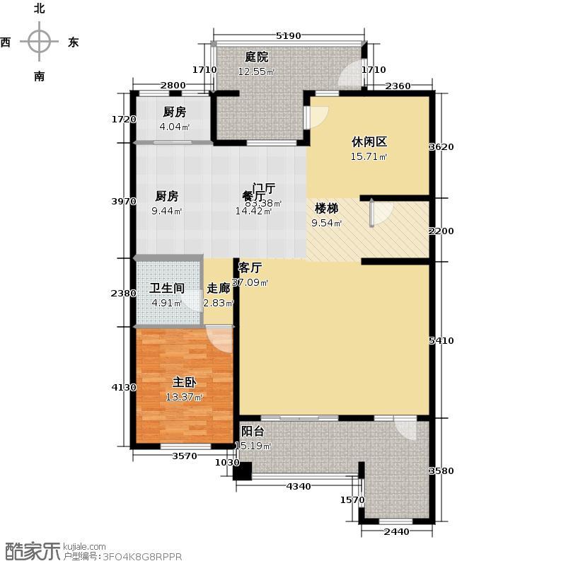 花墅香醍(龙湖・花盛香醍)286.00㎡G上叠标准三层户型10室