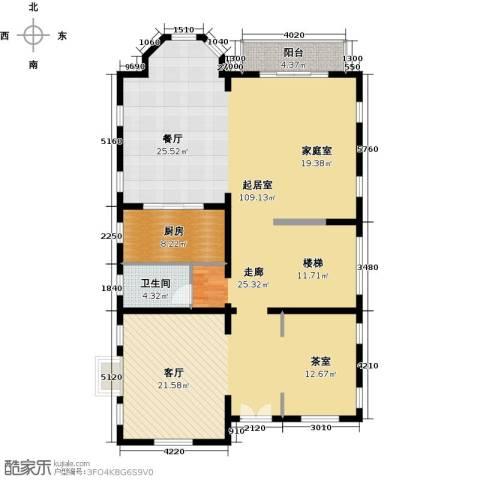 珠江・紫宸山173.00㎡户型图