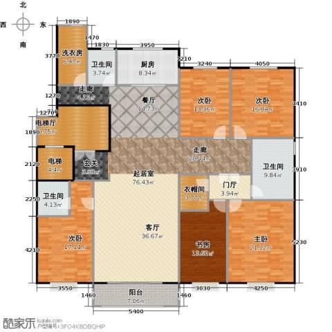 中信府・世家4室2厅3卫0厨228.00㎡户型图