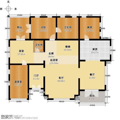 珠江・紫宸山285.00㎡户型图