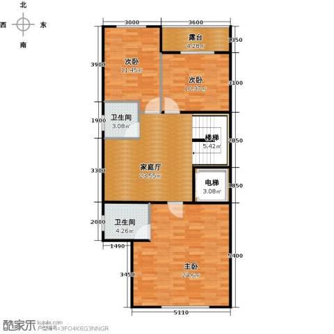 熙园山院5室3厅4卫0厨90.89㎡户型图
