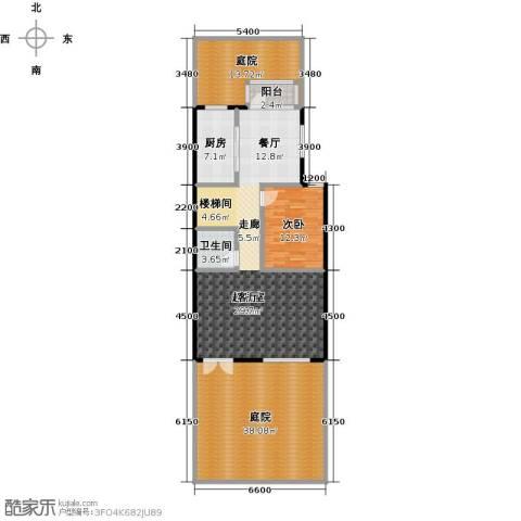 鹭岭1室2厅1卫0厨173.00㎡户型图