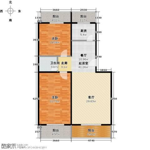 众智慧谷2室2厅2卫0厨120.00㎡户型图