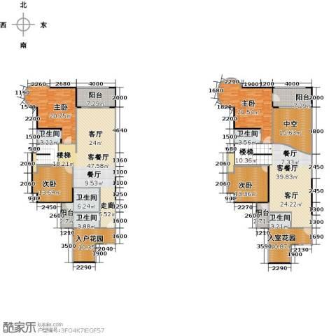 瑞安花园5室3厅3卫0厨253.00㎡户型图