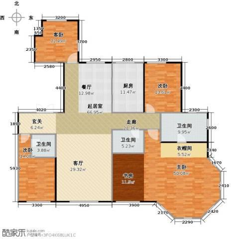 天润・香墅湾1号3室2厅3卫0厨262.00㎡户型图